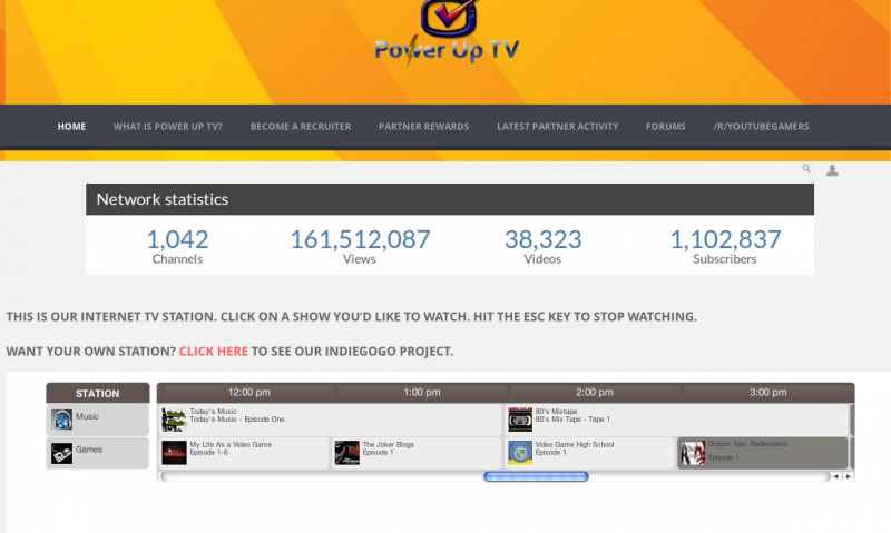Start a tv station on your website for 100 over 4 000 for Embed a forum into your website