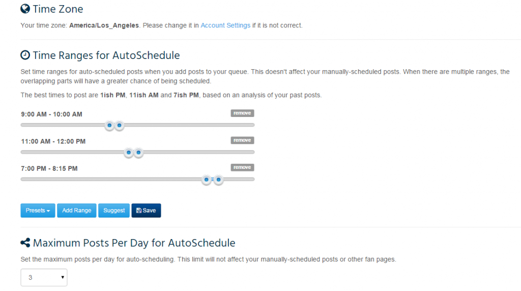 Fan Page Robot does the heavy lifting to determine the best time of day to update my pages.