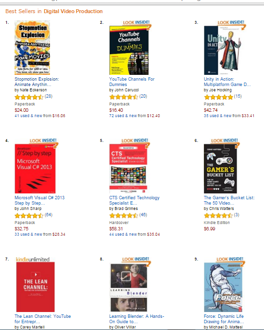 amazon best seller lean channel